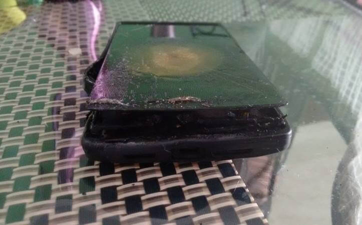 OnePlus-One-unit-allegedly-explodes-while-charging