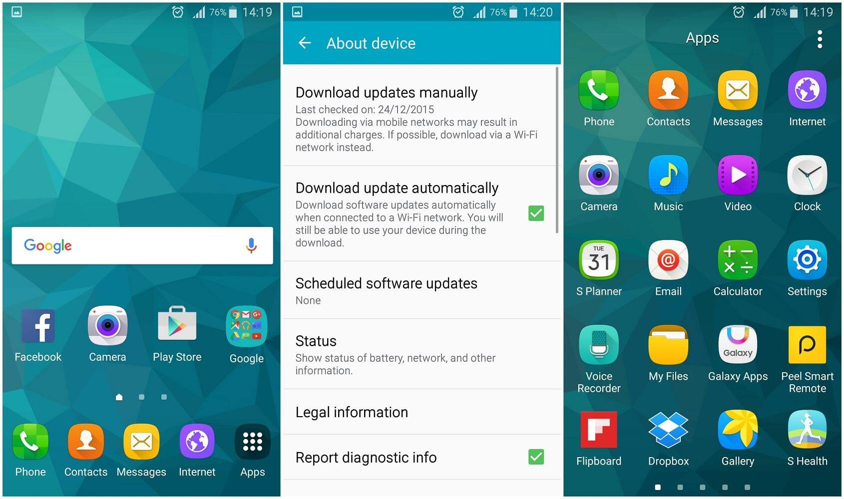 android 6 marshmellow samsung galaxy s5