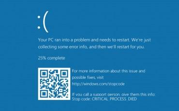 windows 10 mavi ekran hatası