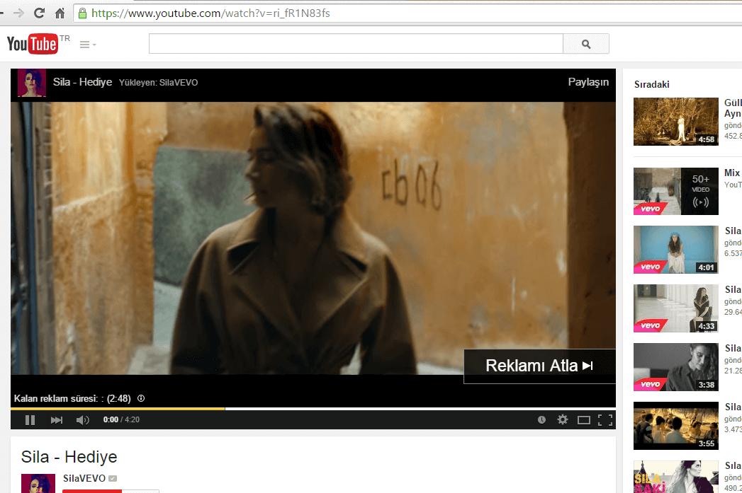 youtube reklam atlama