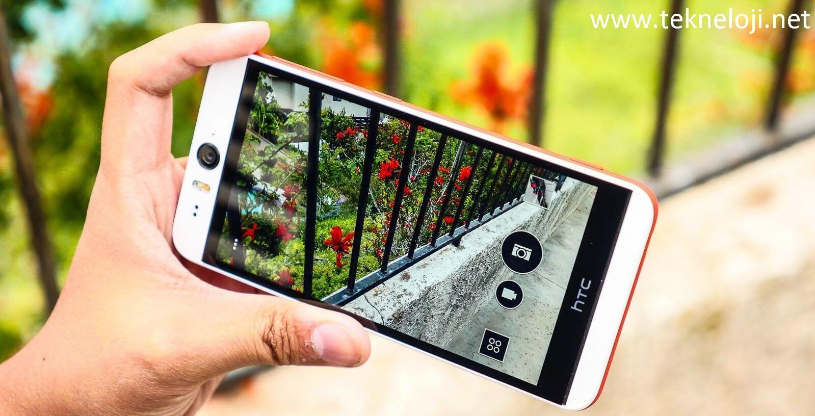 Photo of HTC Desire Eye Android 6.0 Alacak