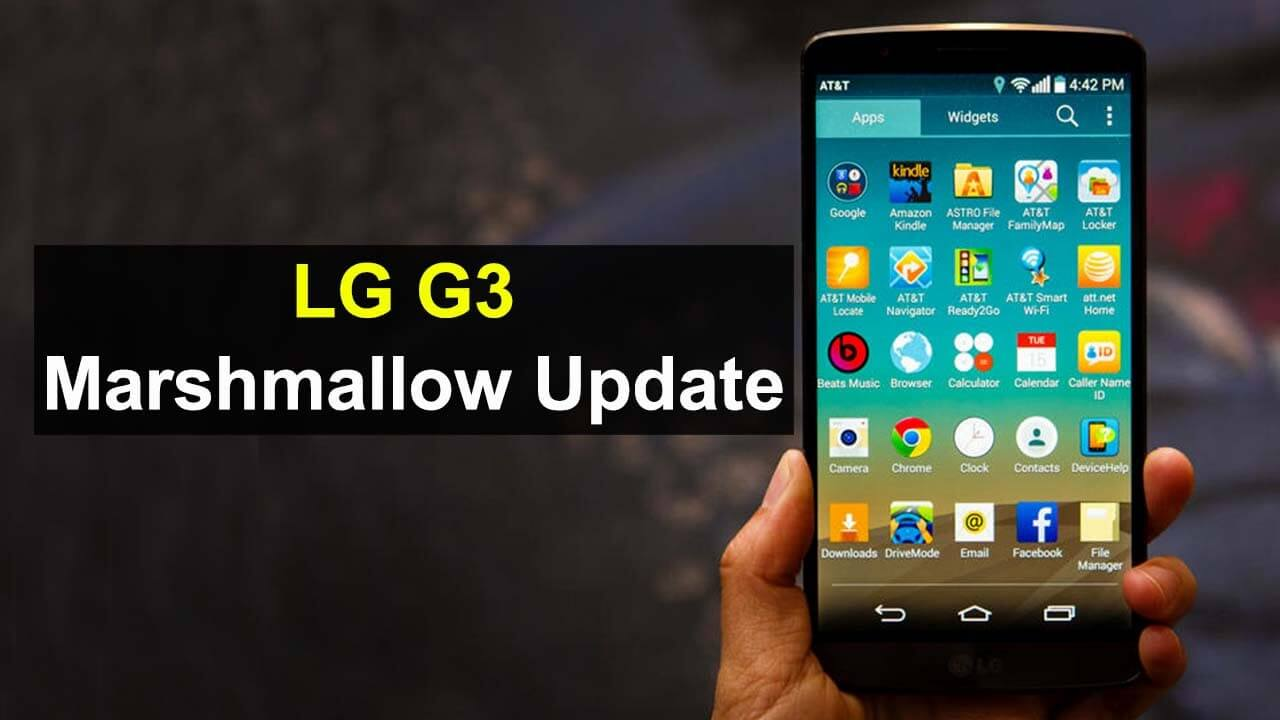 Photo of LG G3 İçin Marshmallow Güncellemesi