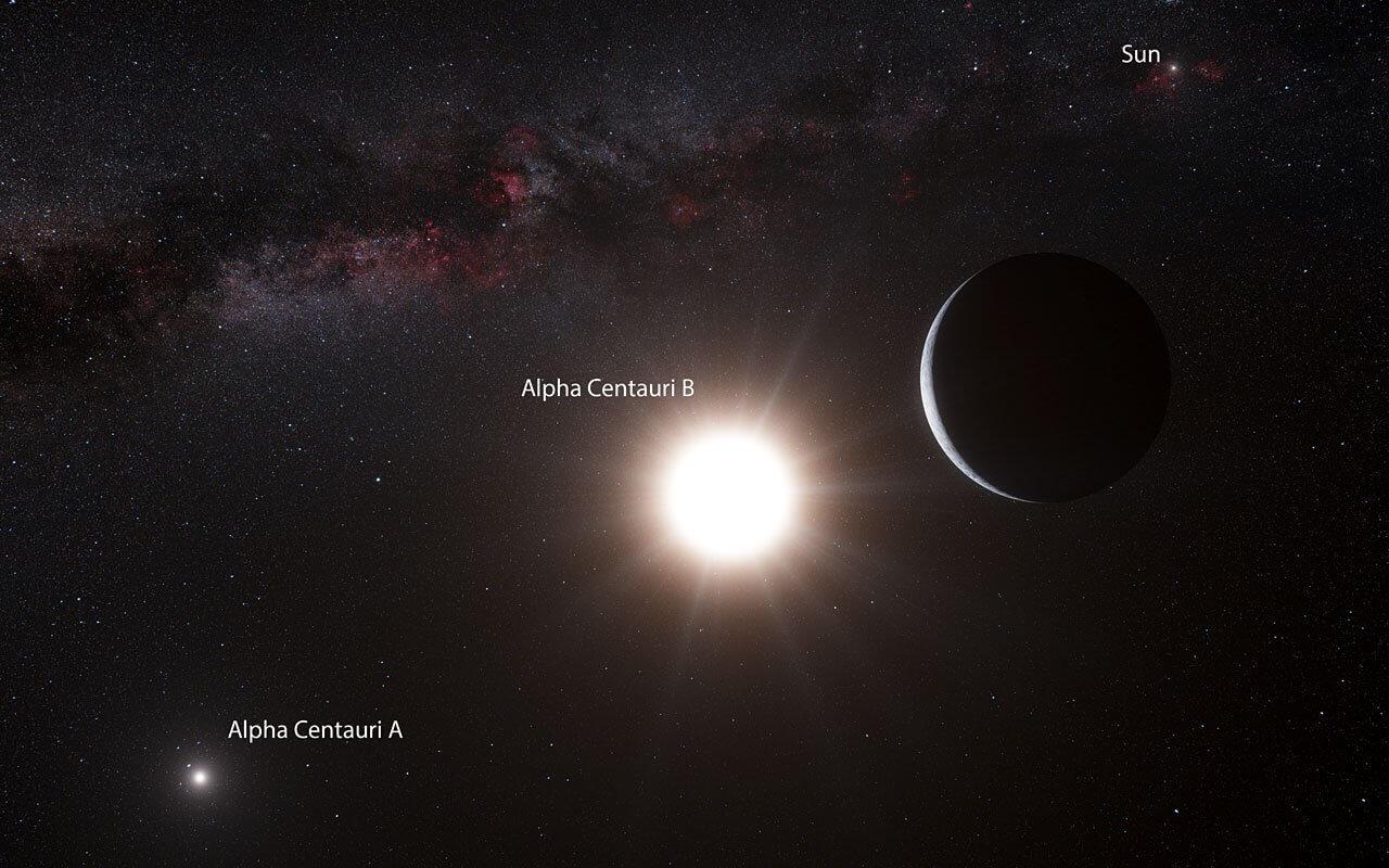 Photo of Alpha Centauri'ye Ufak Roketler Yollanacak