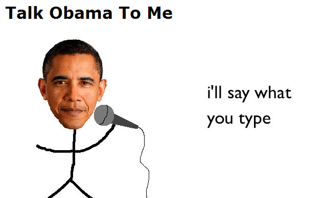 Photo of Talk Obama To Me İle Obama'ya İstediğinizi Söyletin