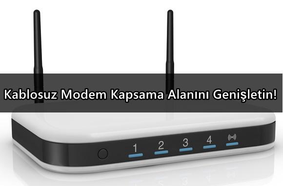 Photo of Kablosuz Modem Kapsama Alanını Genişletin!