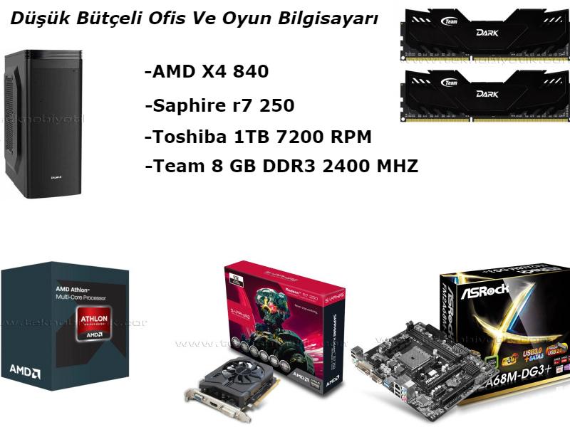 Photo of Düşük Bütçeli Ofis Ve Oyun Bilgisayarı