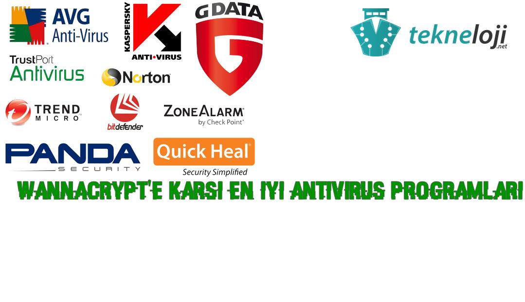 Photo of WannaCrypt'e Karşı En İyi AntiVirüs Programları