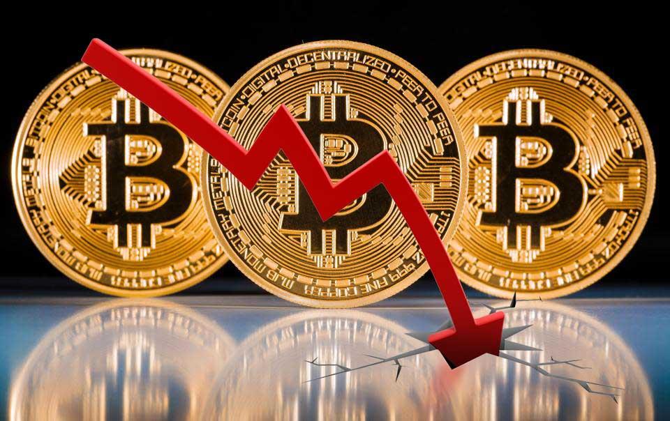 Dikkat Düşüyoruz! Bitcoin 2000 Dolar Değer Kaybetti
