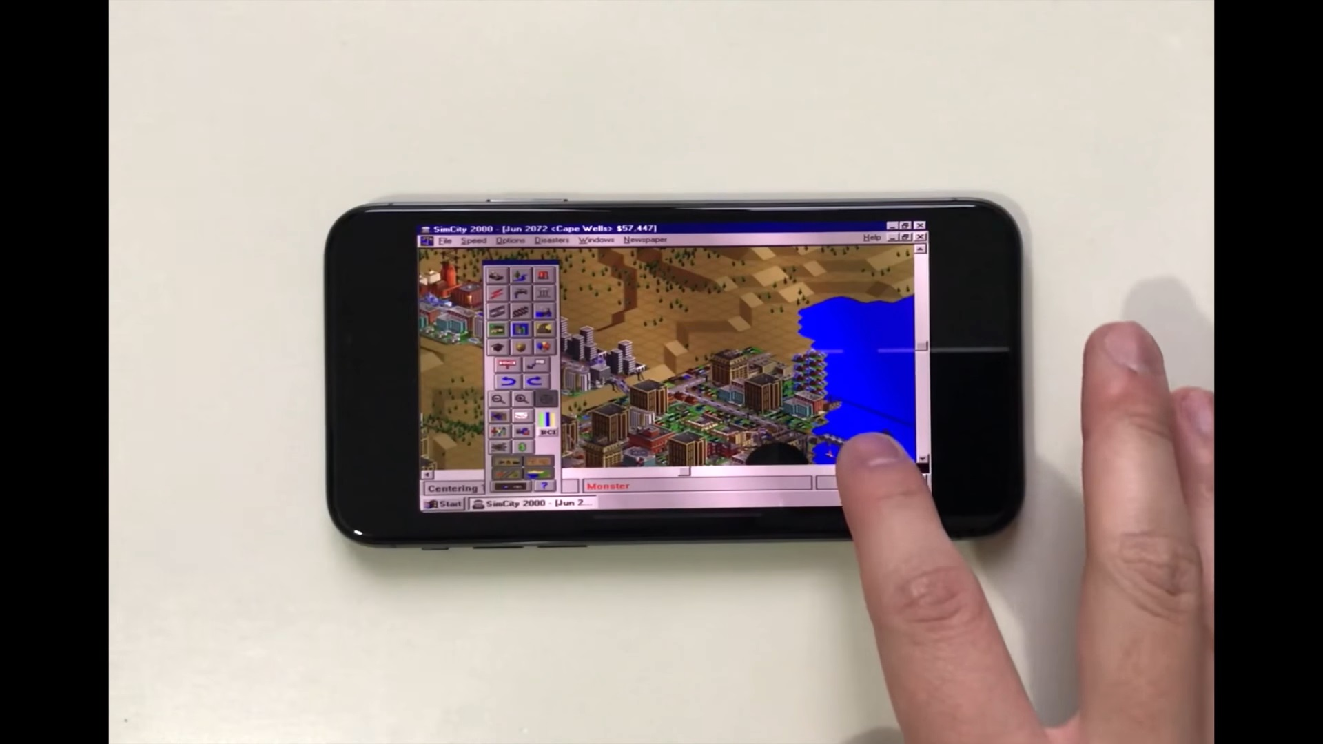 Photo of iPhone X'e Windows 95 Yükleyip SimCity Oynadılar