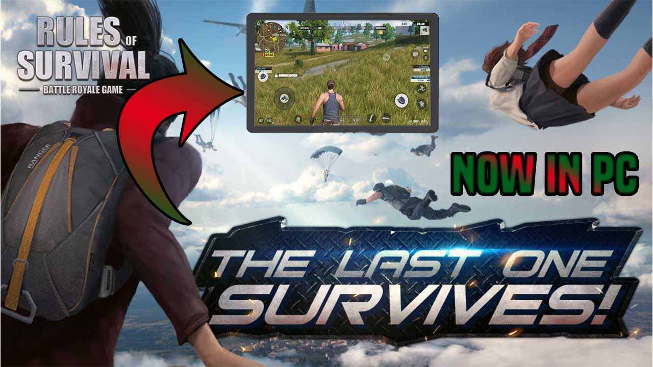 Rules Of Survival Artık PC'de Oynanabiliyor!