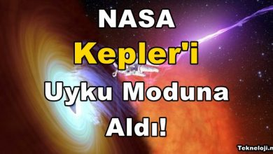 Photo of NASA, Kepler'i Uyku Moduna Aldı!
