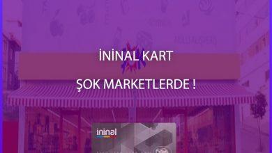 Photo of İninal Kartlar Şok Marketlerde Satılmaya Başladı!