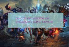 Photo of League of Legends Dil Değiştirme Nasıl Yapılır?